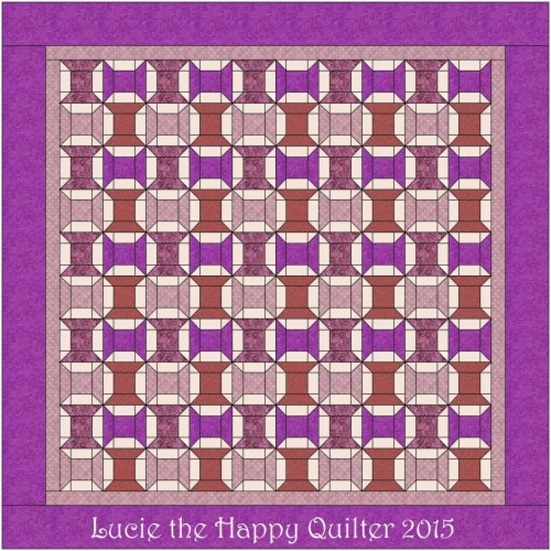 Thread Spool Quilt