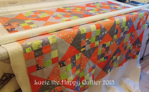 Cheerful quilt 2