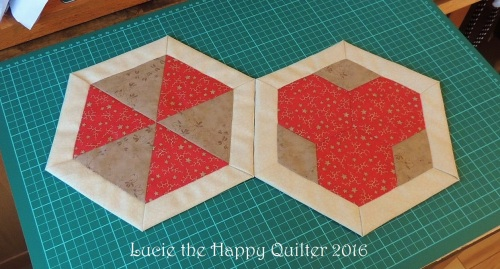 Appliqued Block 1 and 2