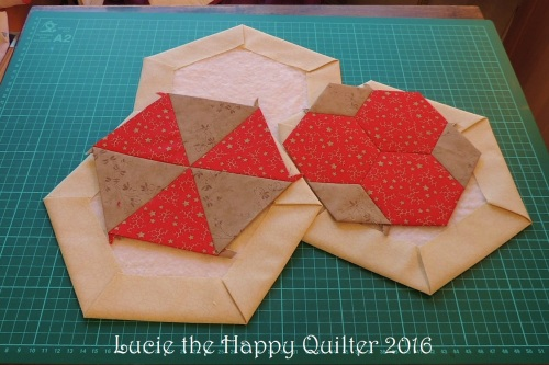 Quilt along hexagon