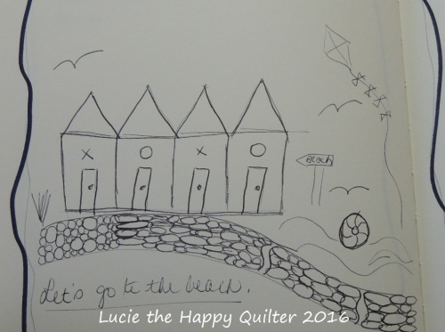 Beach hut project inspiration