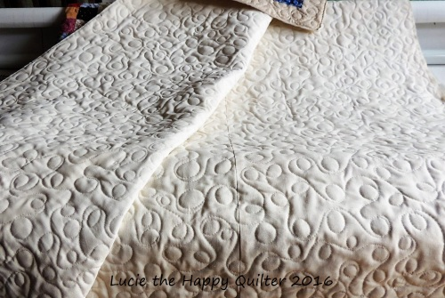 Christine Stoyle Charity Quilt back