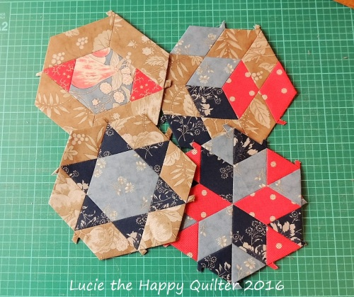 Quilts on the Grow July Blocks