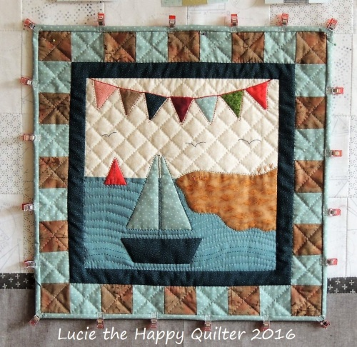 Four Season Button club Whimsy Summer Block